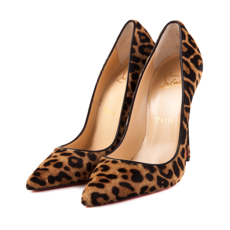 So Kate Leopard Print Pony Hair Pumps - Bag Religion