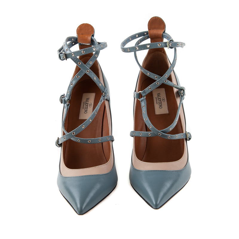 Love Latch Strappy Heels - Bag Religion