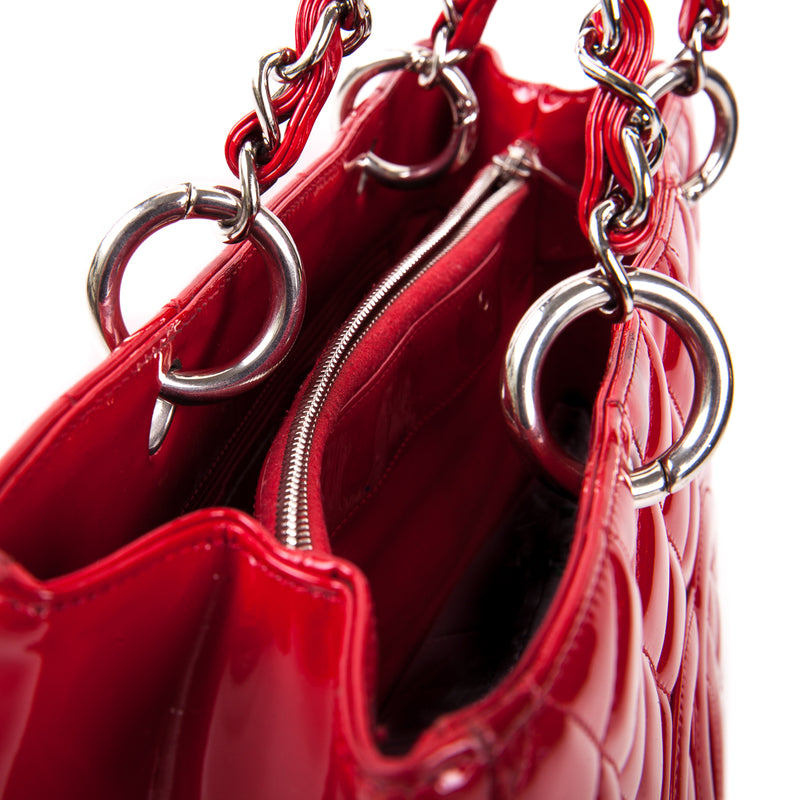 Quilted Red Patent GST - Bag Religion