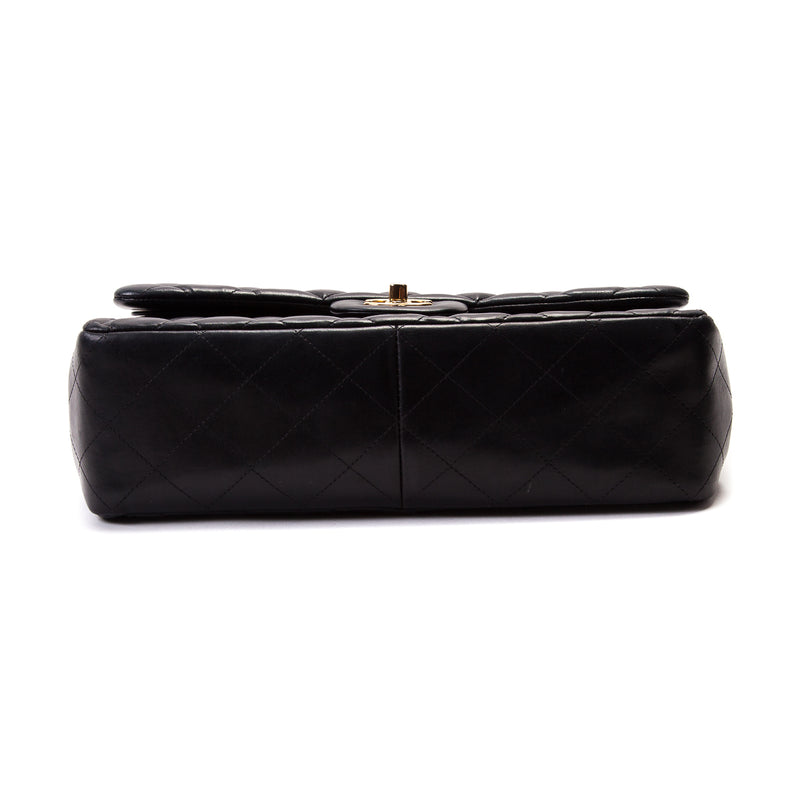 Classic Double Flap Lambskin Jumbo Black with GHW - Bag Religion