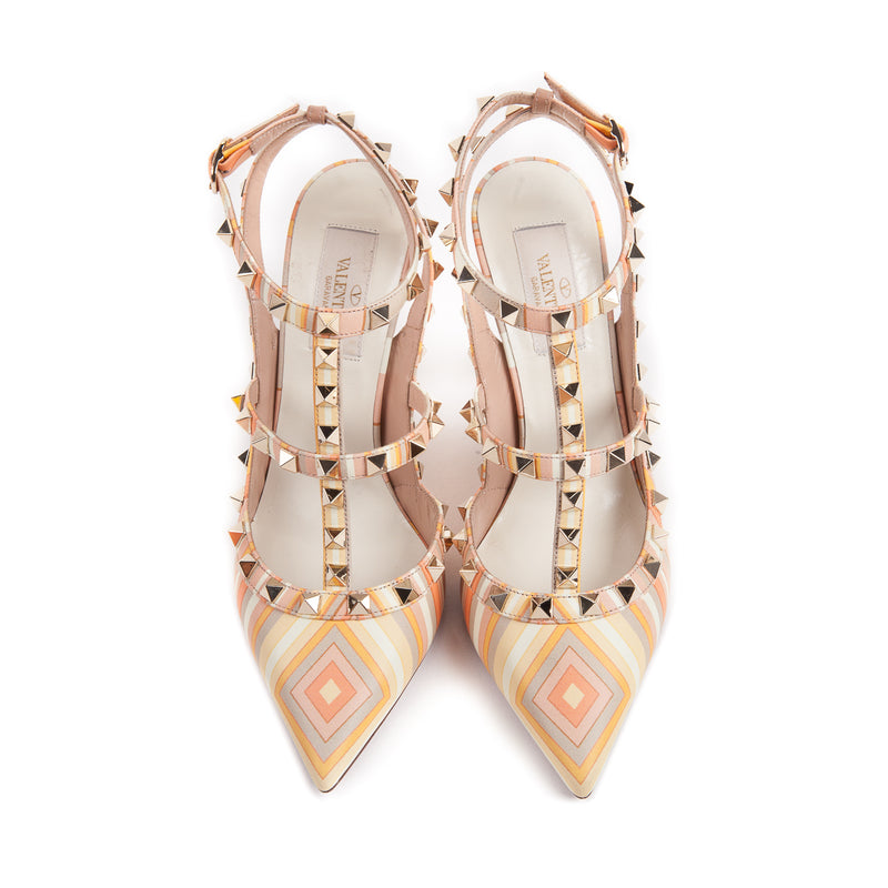 Pattern Rockstuds in Peach - Bag Religion