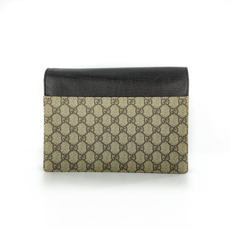 Vintage GG Monogram Clutch with Retractable Strap - Bag Religion