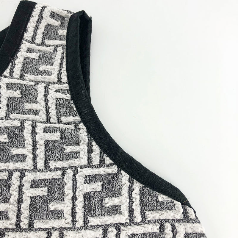 Zucca Pattern Sleeveless Dress - Bag Religion
