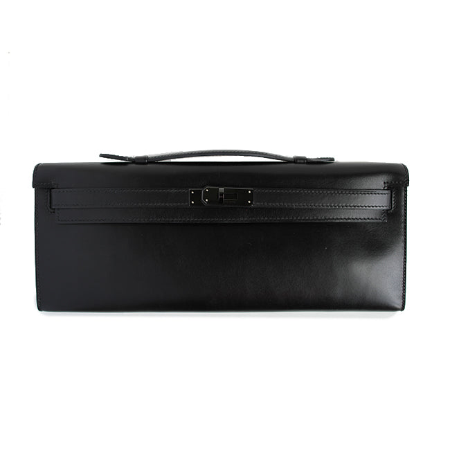 Kelly Cut Clutch in So Black - Bag Religion