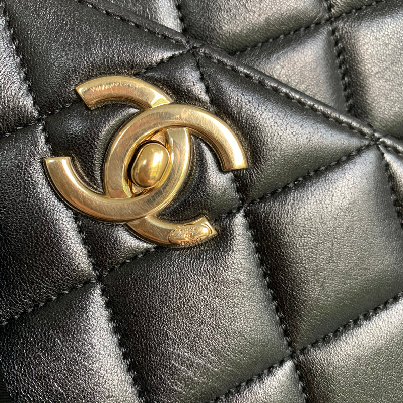 Small Trendy CC in Lambskin Leather with GHW
