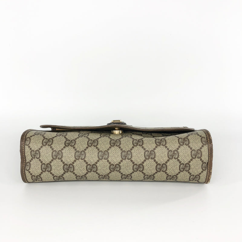 GG Monogram Clutch with Classic Detail and Gold Hardware - Bag Religion
