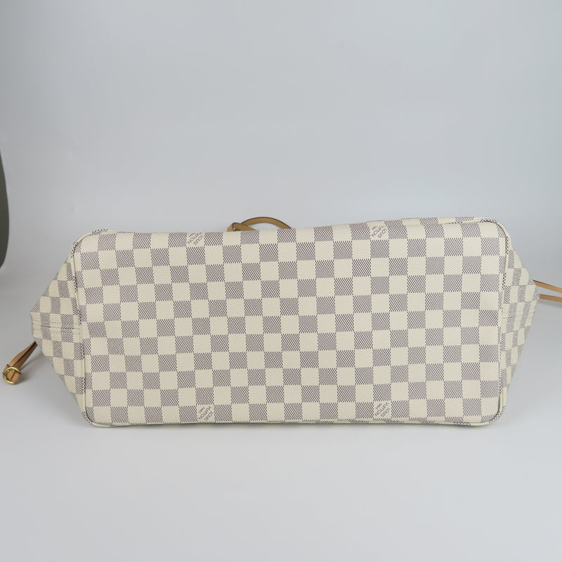 Neverfull GM Damier Azure Canvas