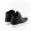 Medusa Black Leather Sneakers - Bag Religion
