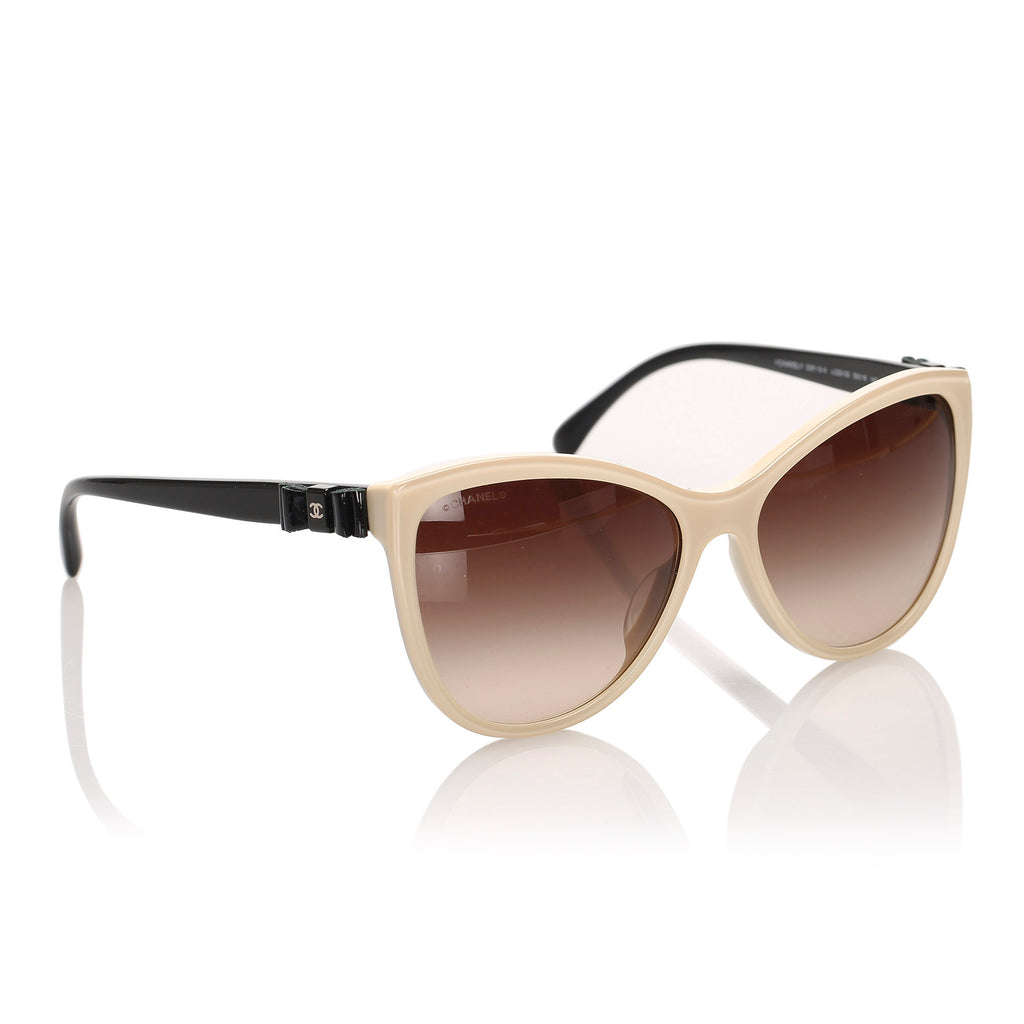 Cat Eye Tinted Sunglasses Brown - Bag Religion