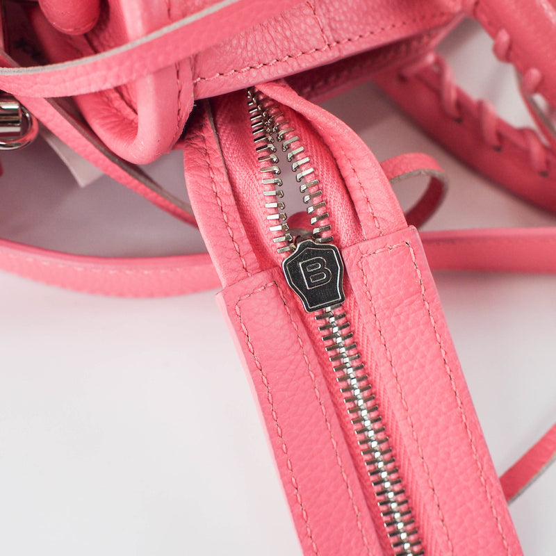 Small Arena leather City in Rose Dragee - Bag Religion