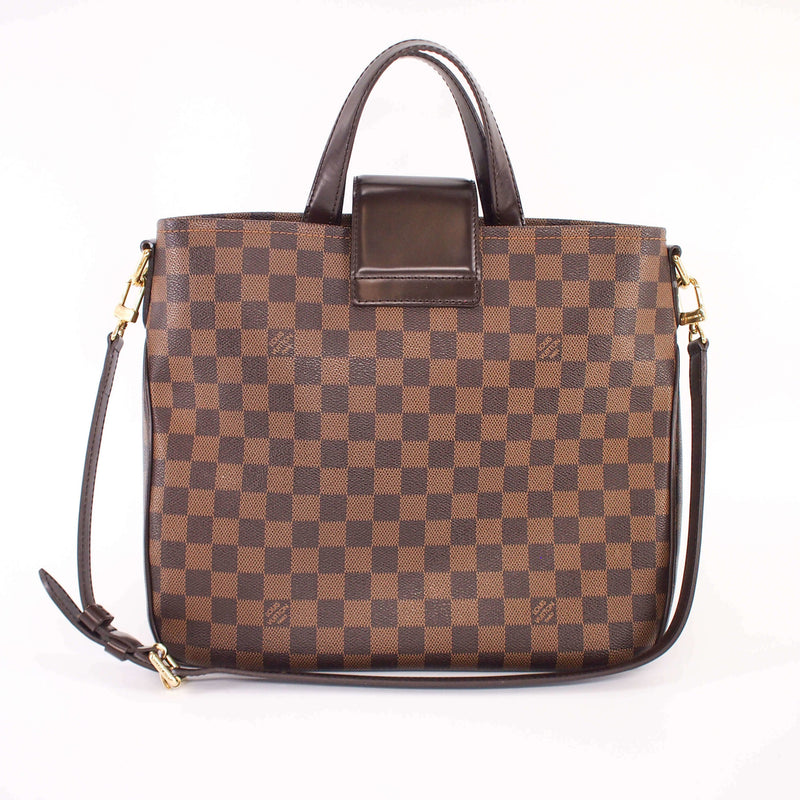Canvas Cabas Rosebery Bag in Damier Ebene - Bag Religion