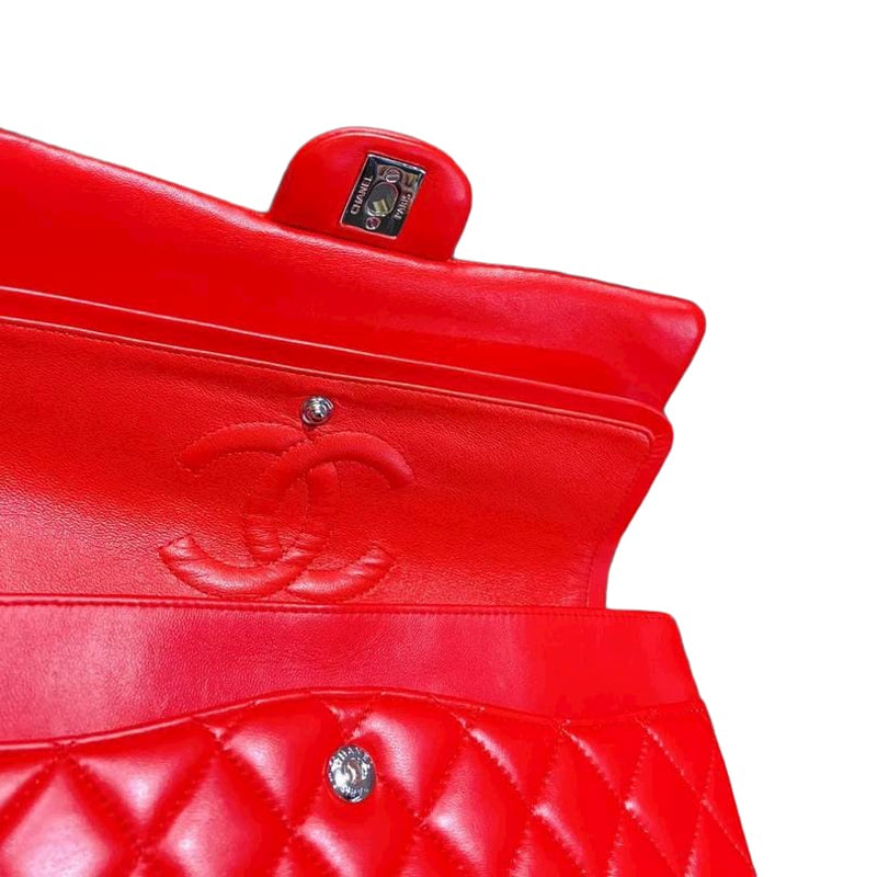 Classic Double Flap M/L Red