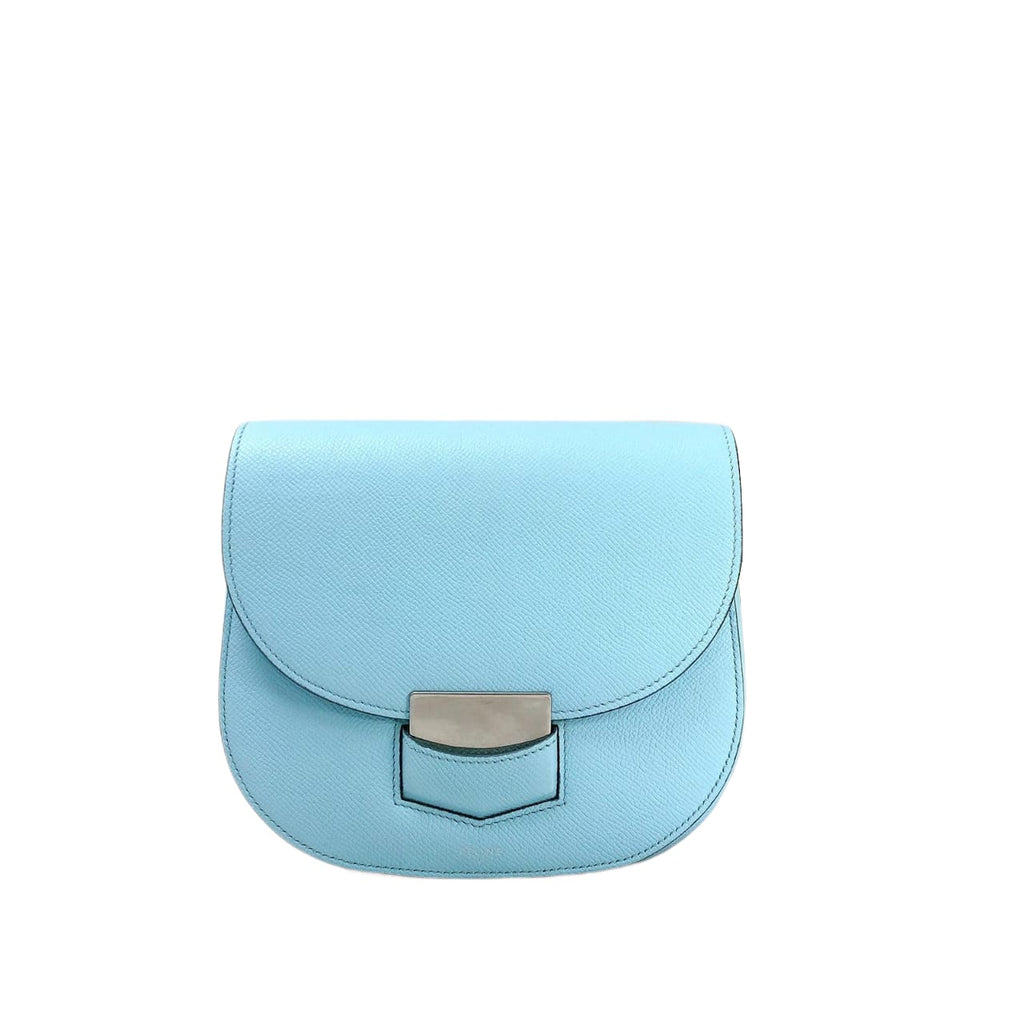 Small Trotteur Bag in Blue SHW