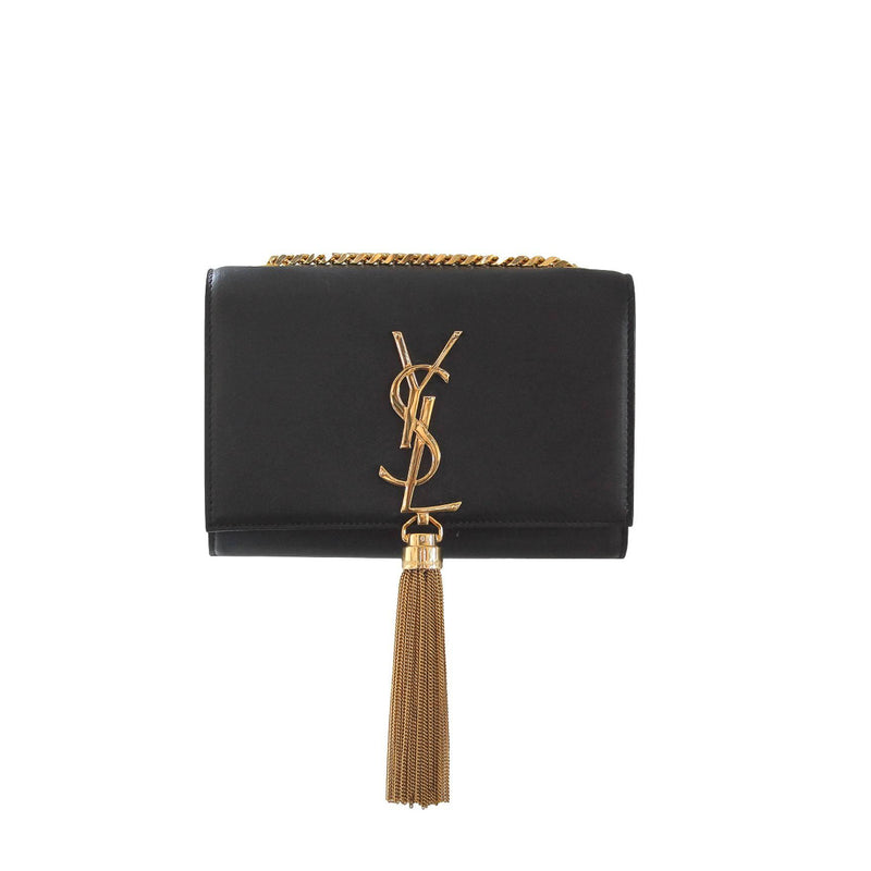 Black Small Tassle Kate Bag - Bag Religion