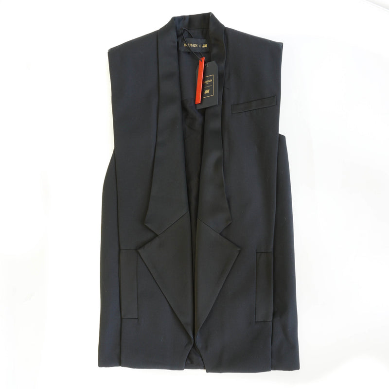 Wool Vest with Lapels - Bag Religion