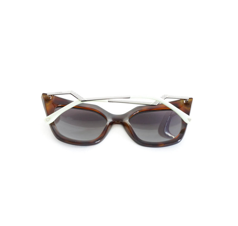 Tortoiseshell Cat Eye Sunglasses with case - Bag Religion