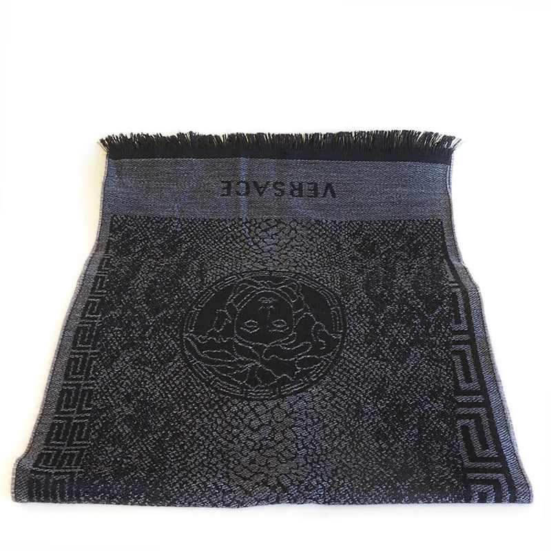 bag-religion Pure Wool Geometric Scarf