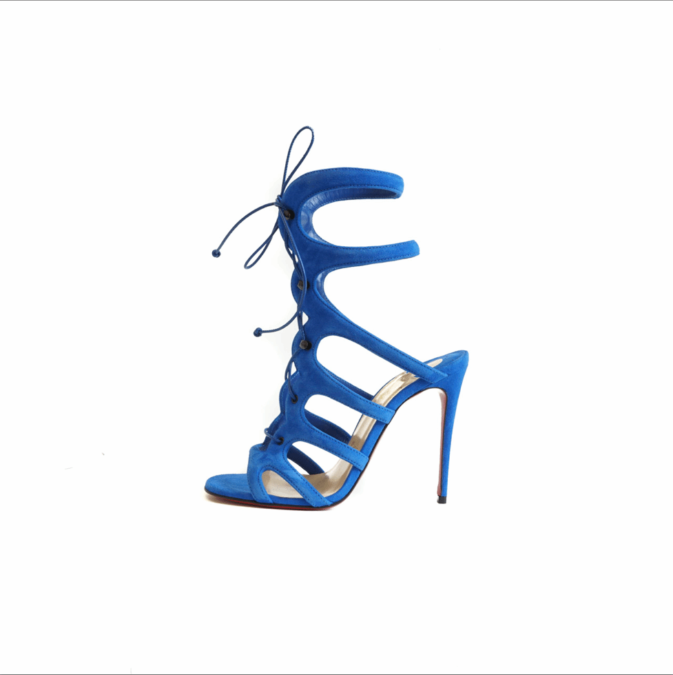 Amazoulo 120 Heels Blue - Bag Religion