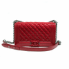 Medium Boy in Red Patent Leather with GHW - Bag Religion