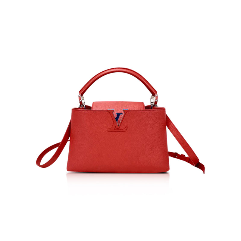 Capucines BB Red Bag
