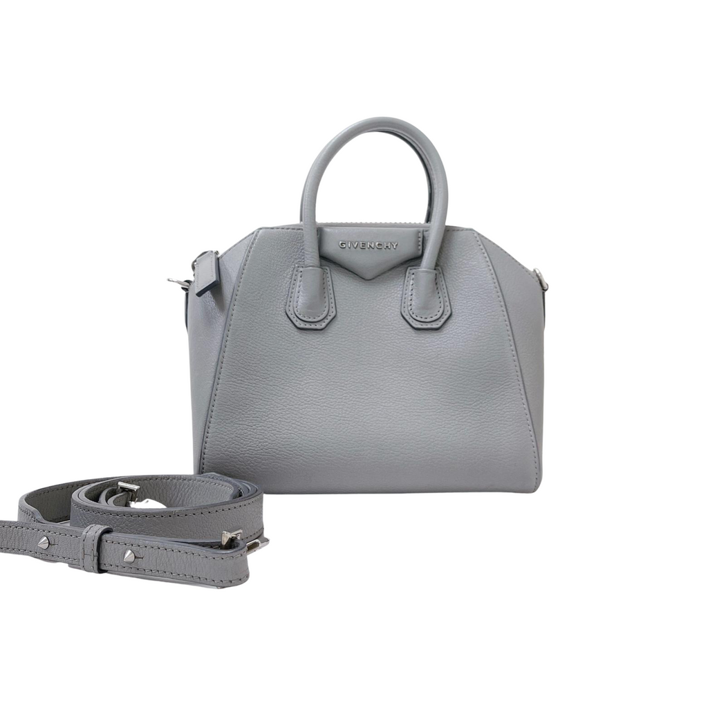 Mini Antigona Bag Grey