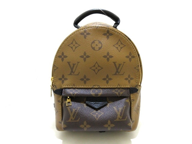 Monogram Reverse Palm Springs Mini Backpack