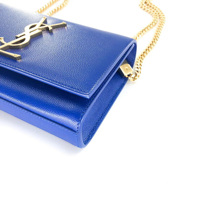 Cobalt Blue Grain Small Kate Bag - Bag Religion