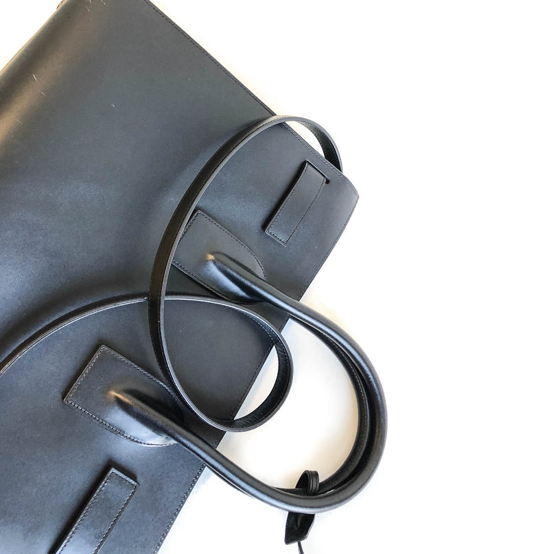 Sac De Jour in smooth black leather - Bag Religion