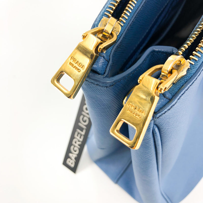 Saffiano Lux Galleria Double Zip Tote - Bag Religion