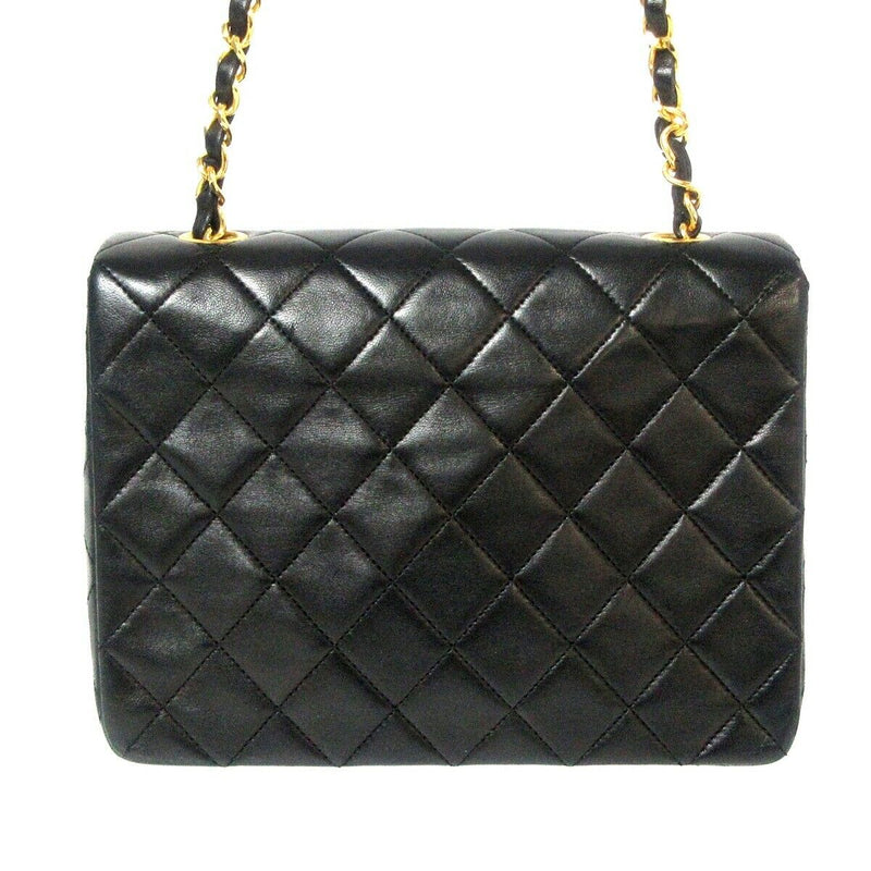 Mini Square Classic Vintage Flap Black