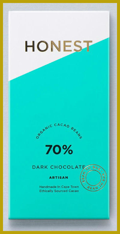 Honest Chocolate Slab 70% - Dark Chocolate