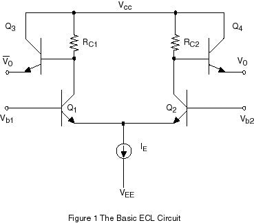 Figure 1: The Basic ECL Circuit