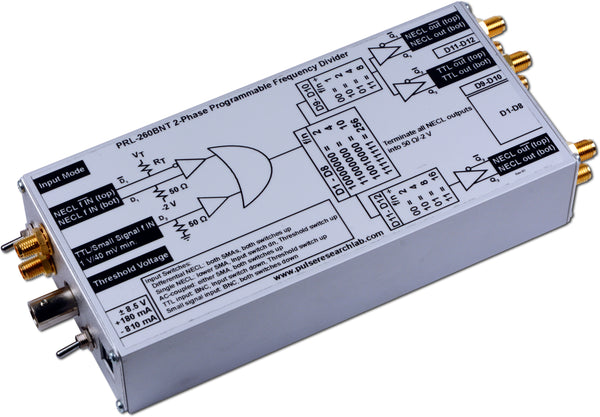 2 Phase NECL/TTL Frequency Divider