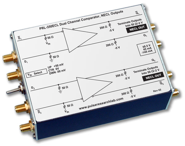 2 Channel Comparator, NECL Outputs