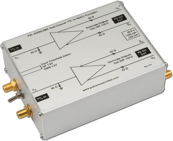 2 Channel TTL to RS-422 Logic Level Translator