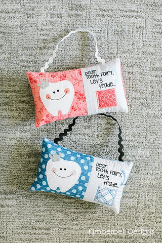 Kimberbell Club Tooth Fairy Bench Pillow