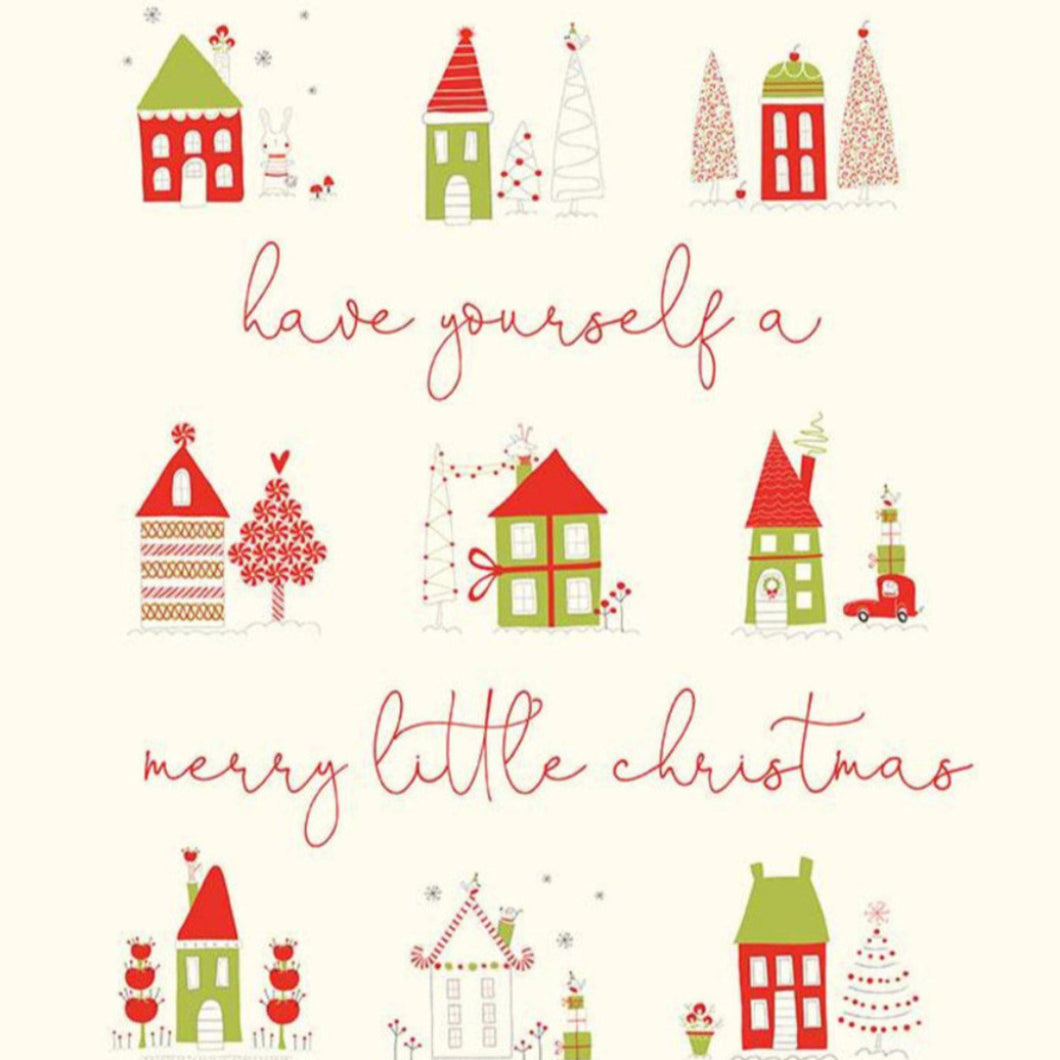 Riley Blake Merry Little Christmas Panel