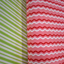 Load image into Gallery viewer, Kimberbell Wavy Stripes Pink Red and White