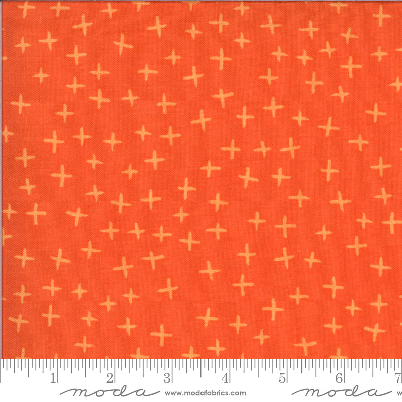 Moda Fabrics - Zen Chic Quotation Clementine Cross
