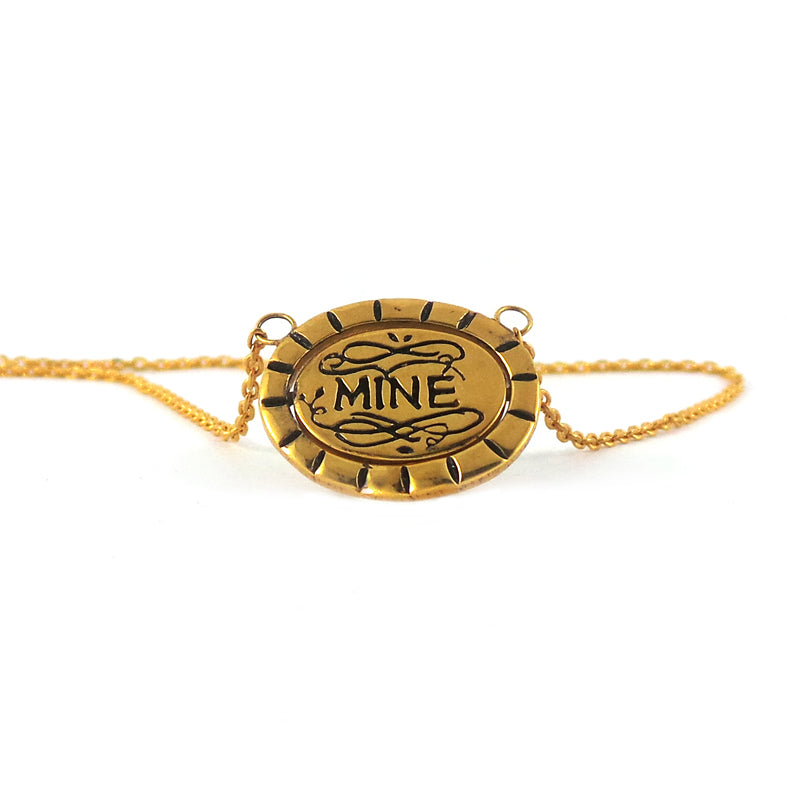 Hunt Of Hounds Bee Mine Necklace