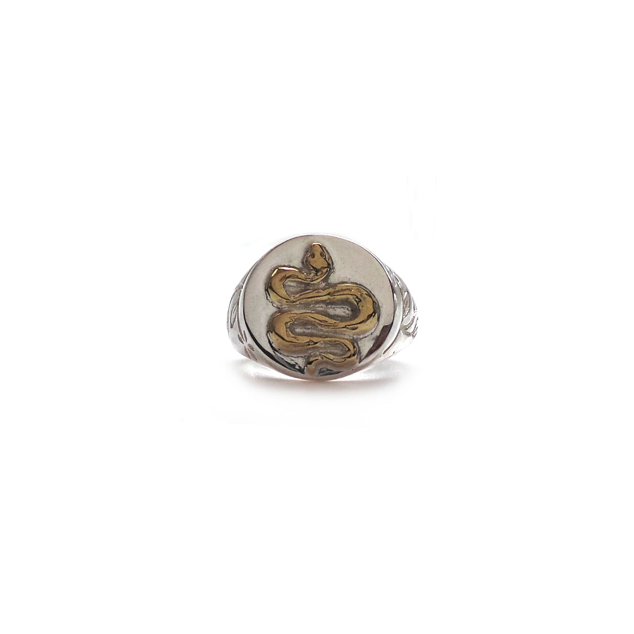 Hunt Of Hounds Serpent Signet Ring