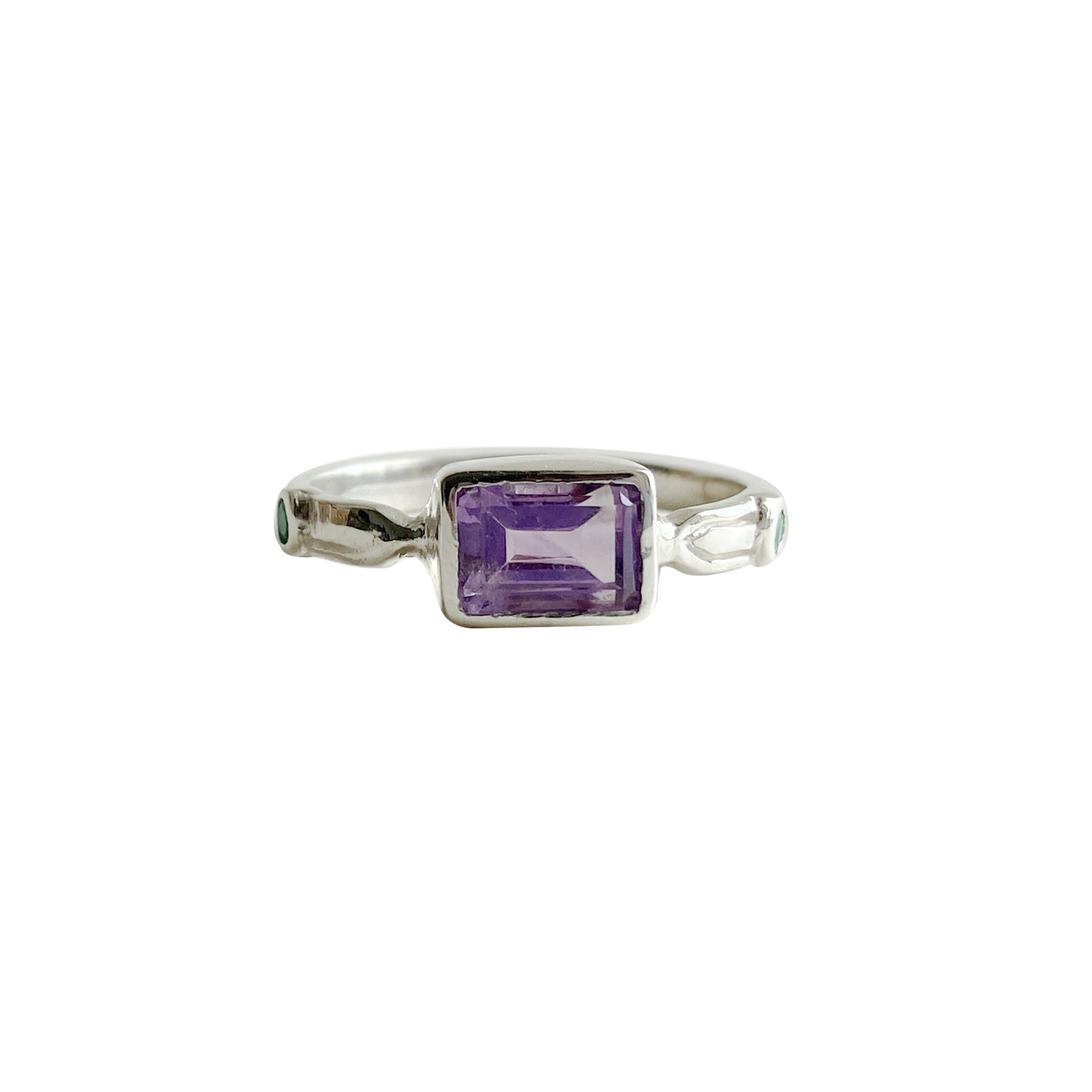 Sacred Solitaire with Amethyst