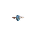 Vernum Solitaire With Blue Topaz