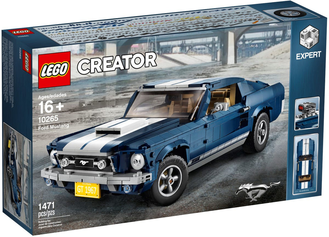 Ford Mustang, Crator Expert, LEGO 10265