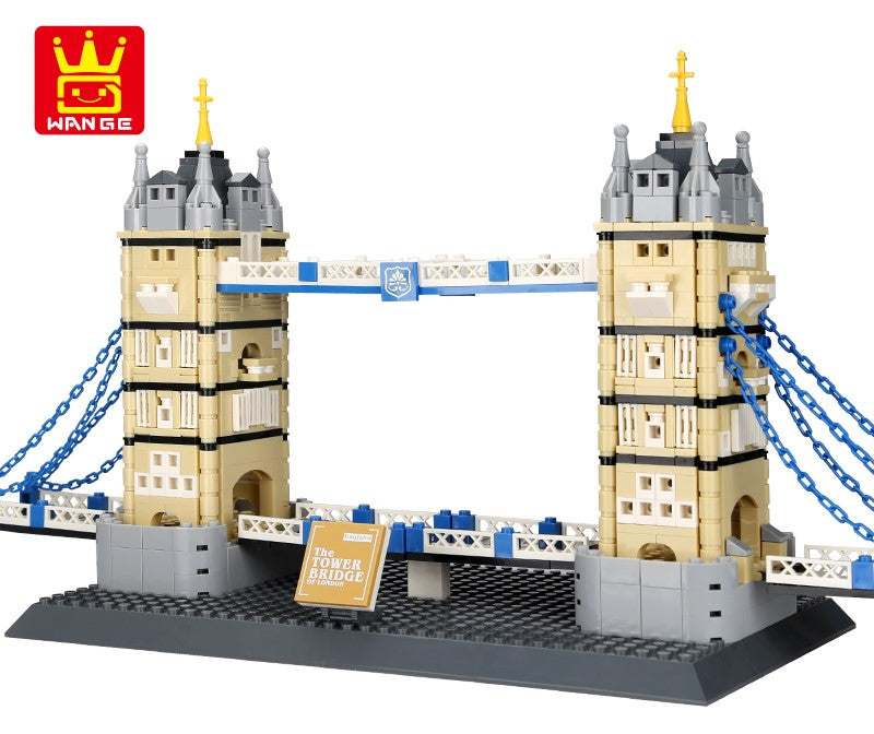 The Tower Bridge of London, Architect, Wange, 4219