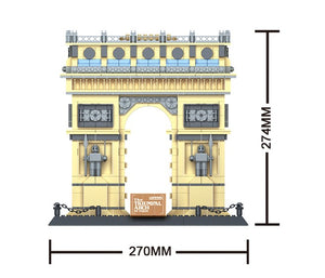 Arc de Triomphe, Architect, Wange, 5223