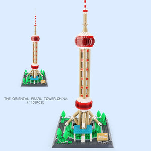 The Oriental Pearl Tower, Architect, Wange, 5224