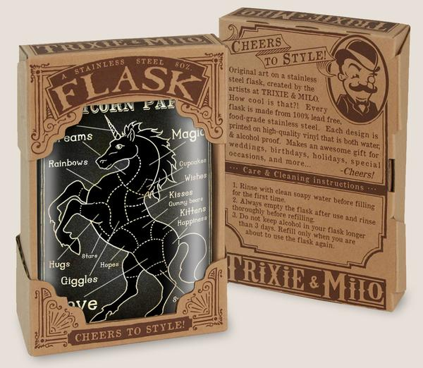 Flask - Unicorn Parts