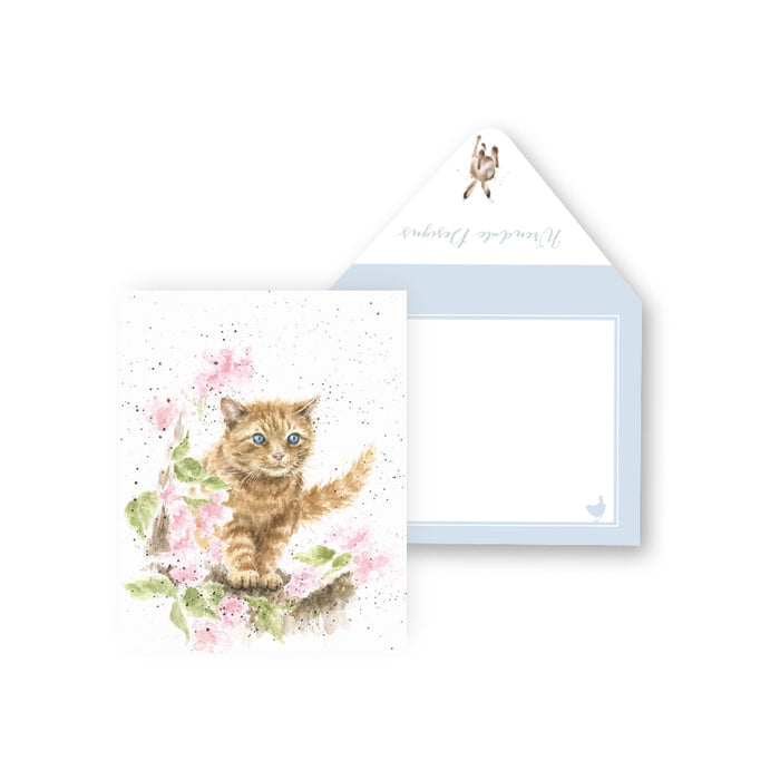 Card - The Marmalade Cat