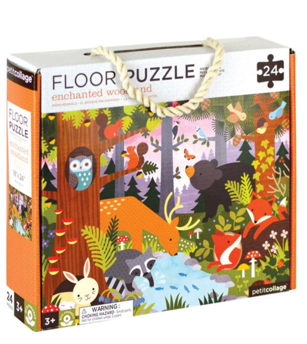 Puzzle - Floor Puzzle Enchanted Woodland